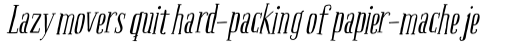 Boho Serif Italic sample