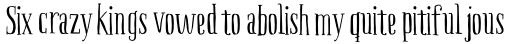 Boho Serif sample