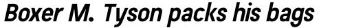 Beauchef Bold Italic sample