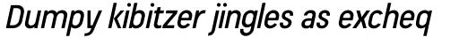 Beauchef Medium Italic sample