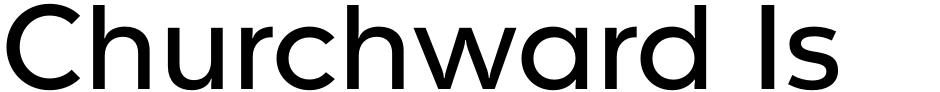 Click to view  Churchward Isabella font, character set and sample text