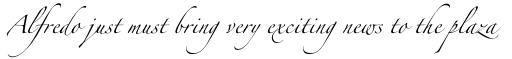 Zapfino Arabic Regular sample
