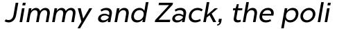 Chronica Pro Regular Italic sample