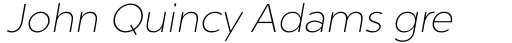 Chronica Pro Ultra Light Italic sample