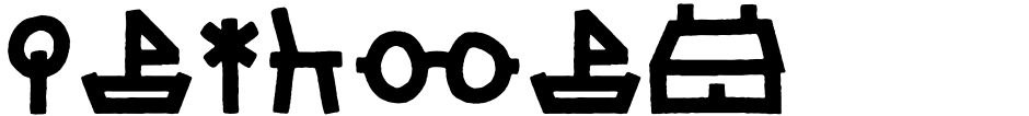 Click to view  LeOsler font, character set and sample text