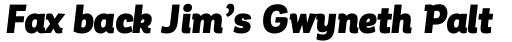 Corporative Alt Condensed Black Italic sample