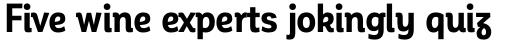 Corporative Alt Condensed Bold sample