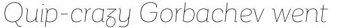 Corporative Alt Hair Italic sample