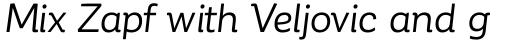 Corporative Alt Regular Italic sample