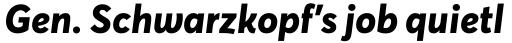 Averta ExtraBold Italic sample