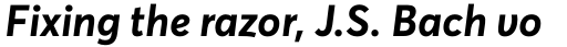 Averta Bold Italic sample