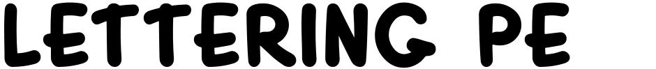 Click to view  Lettering Pen JNL font, character set and sample text