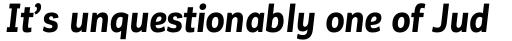 Corporative Sans Alt Condensed Bold Italic sample