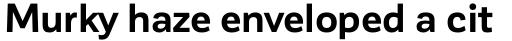 Corporative Sans Bold sample