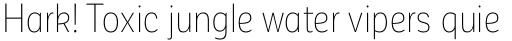 Corporative Sans Alt Condensed Thin sample