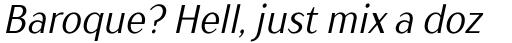 TT Drugs Condensed Italic sample