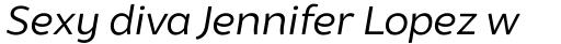 Brocha Book Italic sample