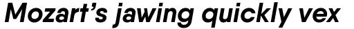 Qanelas Bold Italic sample