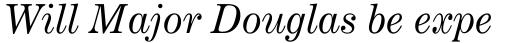 Century Expanded Std Italic sample