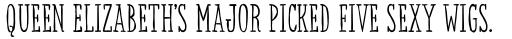 Sensa Serif Regular sample