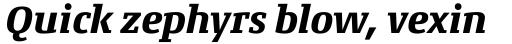 Conto Slab ExtraBold Italic sample