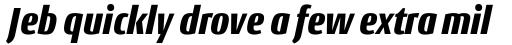 Conto Condensed Black Italic sample