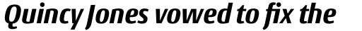 Conto Narrow ExtraBold Italic sample