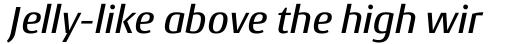 Conto Medium Italic sample