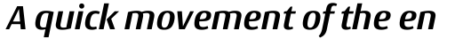Conto Bold Italic sample
