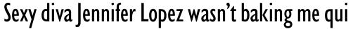 Gill Sans Nova Condensed Medium sample