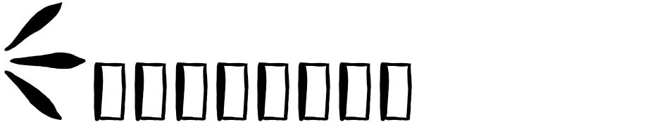 Click to view  Vagabundo font, character set and sample text