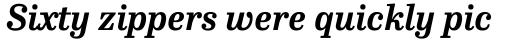 FF Hertz Pro Bold Italic sample