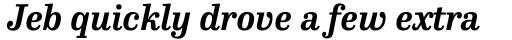 FF Hertz Std Bold Italic sample