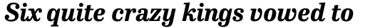 FF Hertz Std Extra Bold Italic sample