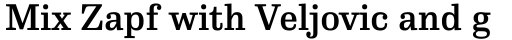 FF Hertz Std Medium sample
