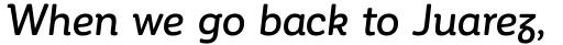 Corporative Soft Alt Medium Italic sample
