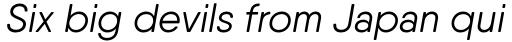 Qanelas Soft Regular Italic sample