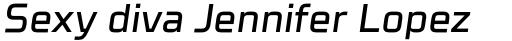Celdum Medium Italic sample