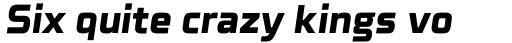 Celdum Extra Bold Italic sample