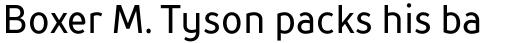 TT Prosto Sans Condensed Regular sample