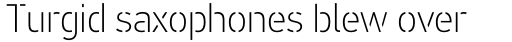 PF DIN Stencil B Thin sample