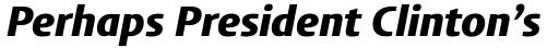 FF Aad Pro Black Italic sample