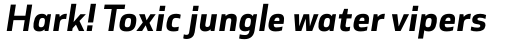 Cover Sans Bold Italic sample