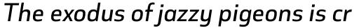 Cover Sans Medium Italic sample