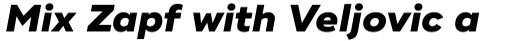 Ridley Grotesk Extra Bold Italic sample