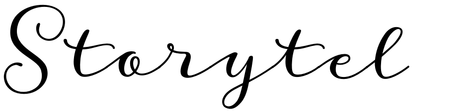 Click to view  Storyteller font, character set and sample text