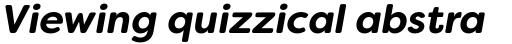 Filson Soft Bold Italic sample