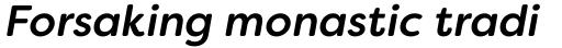 Filson Soft Medium Italic sample