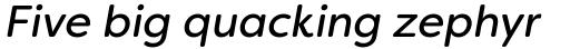 Filson Soft Regular Italic sample