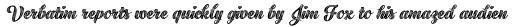 Black Script Printed Inline Bold sample